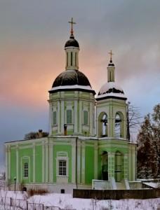 Троицкий храм с. Ельдигино